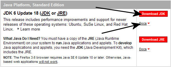 JDK Selection