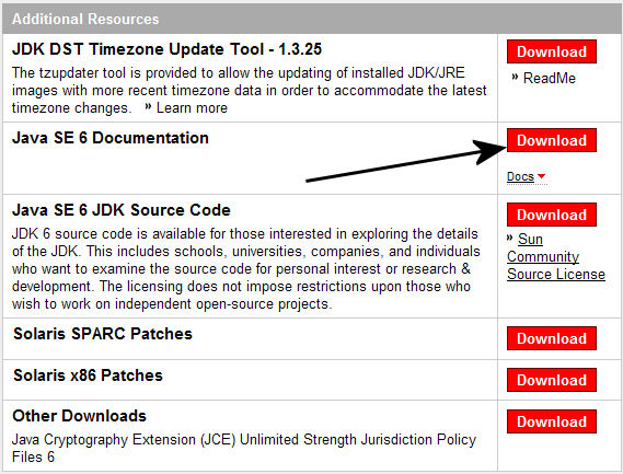 JDK Documentation